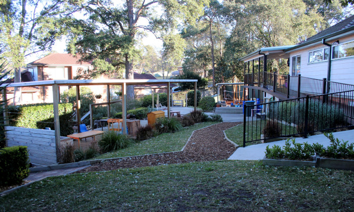 Winmalee Community Preschool backyard