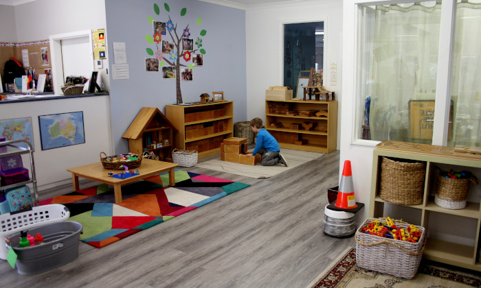 Winmalee Community Preschool construction area